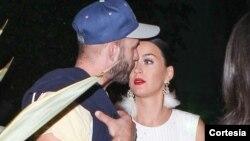 La estrella fue pillada con un caballero que no es su amor Orlando Bloom.