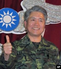 台空军司令部政战部主任潘恭孝中将