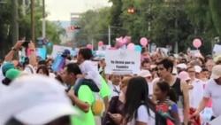 墨西哥人遊行反對同性婚姻合法化