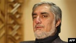 داکتر عبدالله عبدالله، نامزد ریاست جمهوری افغانستان