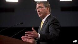 FILE - U.S. Defense Secretary Ash Carter.