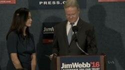 Webb Drops From Democratic Presidential Race