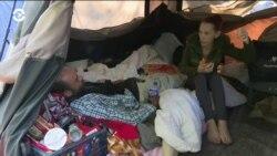Бездомные Сиэтла организовали палаточный город