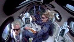 """維珍銀河二號首次成功載人遨遊太空 布蘭森稱""""一生的完整體驗"""""""
