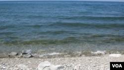 贝加尔湖。(美国之音白桦拍摄)