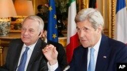Kerry û Jean Marc Ayrault