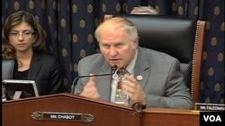 美國國會外交委員會亞太小組委員會共和黨籍小組委員會主席夏伯特議員.