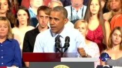 奥巴马民调声望低令民主党人担忧