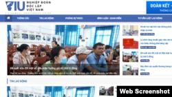 Trang web của Nghiệp đoàn Độc lập Việt Nam.