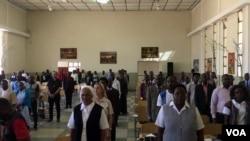 articipantes do XV encontro das escolas catolicas de Angola
