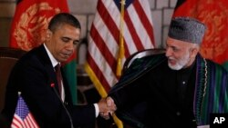 آقای کرزی گفته است که ایالات متحده نباید افغانستان را اسباب بازی سیاسی خود بسازد