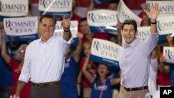 罗姆尼和瑞安在北卡罗来纳州竞选