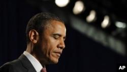 奧巴馬呼籲通過就業法案。