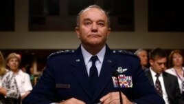 U.S. Air Force General Philip Breedlove testifies before Senate Armed Services Committee hearing on his nomination to be NATO commander, Capitol Hill, Washington, April 11, 2013.