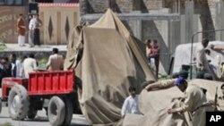 وسطی کرم ایجنسی میں امن قائم کرنے کے بعد بے گھر افراد کی گھروں کو واپسی