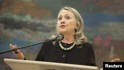 Hilari Klinton posle sastanka sa predsednikom Josipovićem u Zagrebu