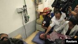John McAfee fue atendido en el hospital de la Policía.Su salud no tiene ningún riesgo y ahora permanece en el albergue para ilegales.