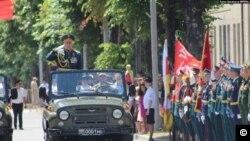 საქართველო - სამხრეთ ოსეთი მეორე მსოფლიო ომში გამარჯვების აღლუმს იმავე დღეს მართავს, რომელზეც რუსეთი. 2020 წლის 24 მაისი.
