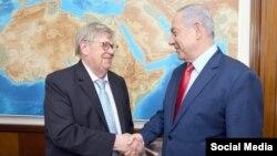 ملاقات بنیامین نتانیاهو با اولی هاینونن در اسرائیل