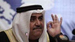 شیخ خالد، وزیر امور خارجه بحرین