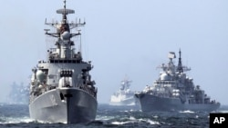 روسیه و چین چندین بار مشق و تمرین مشترک نظامی را انجام داده اند