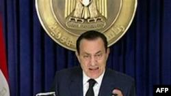 Bisedime SHBA-Egjipt për dorëheqjen e Presidentit Hosni Mubarak