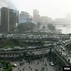Kairo tokom demonstracija