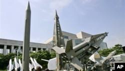 朝鲜火箭(资料照片)