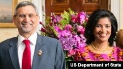 Jorge Carlos Fonseca, Presidente de Cabo Verde, e esposa, Lígia Arcangela Dias Fonseca