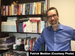 Patrick Madden, a N. Y. computer scientist and professor running for U.S. Congress to support science research. (Credit: Patrick Madden)