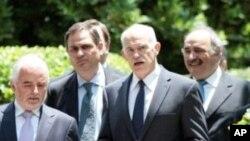 希臘為面對金融危機而宣佈改組內閣