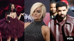 Cardi B, Bebe Rexha e Drake