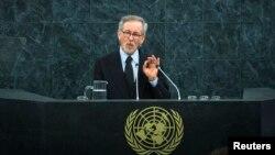 Steven Spielberg dijo que hay que crear el impulso necesario para frenar los holocaustos