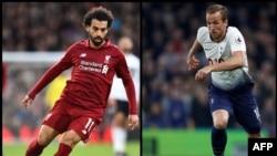 Mohamed Salah wa Liverpool na Harry Kane wa Tottenham