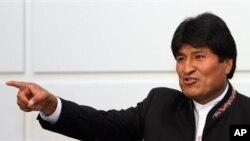 에보 모랄레스 볼리비아 대통령