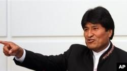 Bolivya Cumhurbaşkanı Evo Morales