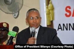 Somaliland Foreign Minister Sa'ad Ali Shire.
