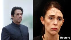 پاکستان اور نیوزی لینڈ کے وزرائے اعظم۔ فائل فوٹو