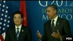 奥巴马会晤胡锦涛