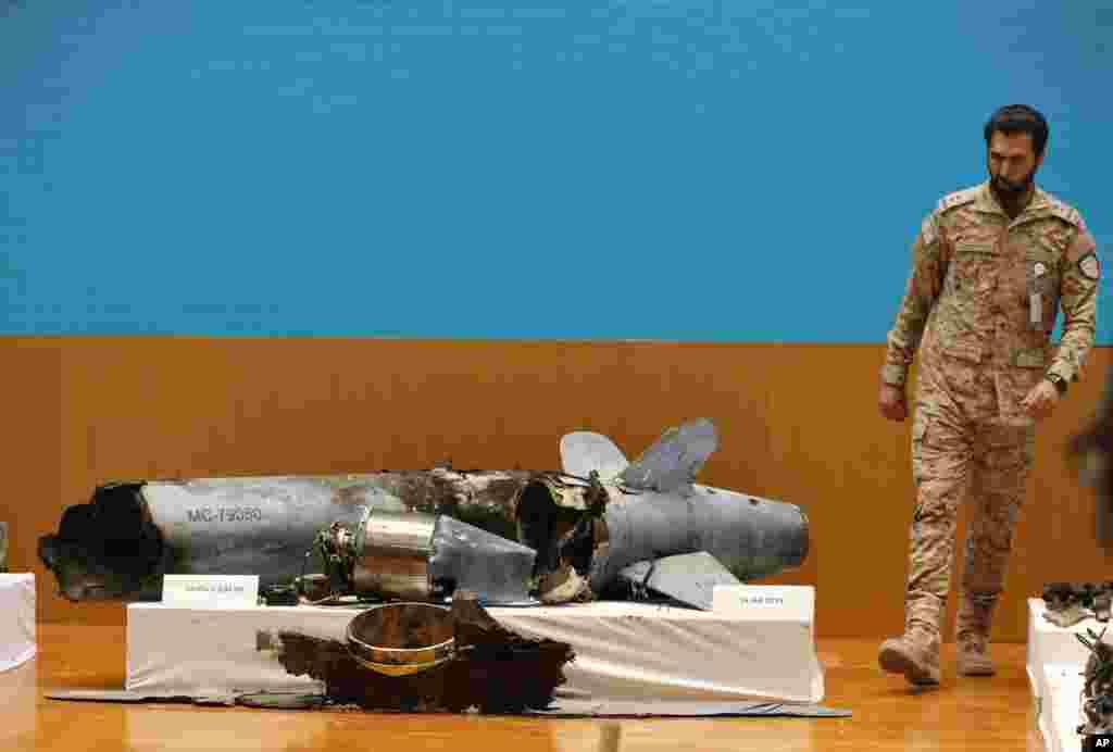 یک نمونه دیگر از تسلیحات ایرانی مورد استفاده در حملات به تاسیسات نفتی عربستان سعودی.
