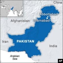 巴基斯坦的地理位置