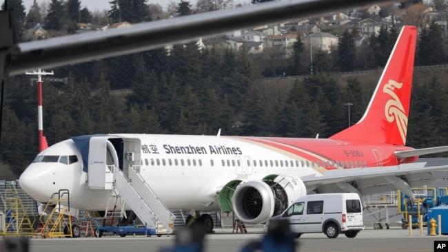 """中国对波音737MAX提出""""重要安全关切"""""""