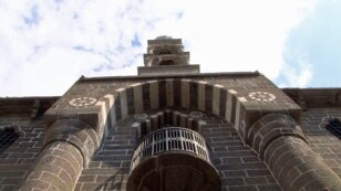 Destroyed in 1915, rebuilt in 2011, the bell tower of the Armenian church Sourp Giragos  in the southeastern Turkish city of Diyarbakir is in many ways a symbol of what has changed among Armenians, Turks and Kurds in the 100 years since the mass killings
