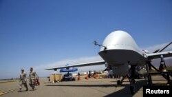 Американський безпілотник MQ-9 Reaper у Каліфорнії, 2015-й рік