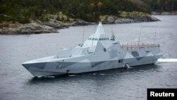 瑞典军方在斯德哥尔摩附近水域搜索