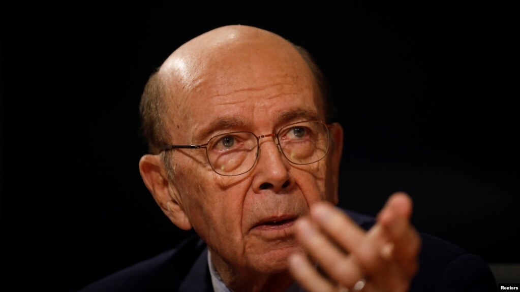 美国商务部部长罗斯(Wilbur Ross )。