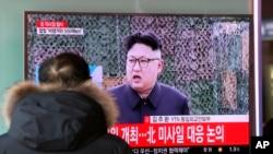 """La reciente etapa de tranquilidad en la península de Corea solo se ha visto alterada por el mensaje de Año Nuevo del líder norcoreano, Kim Jong-un, que afirmó que los misiles experimentales de alcance intercontinental norcoreanos estaban en la """"fase final"""" de su desarrollo."""