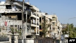 Fighting Rages in Aleppo, Syria