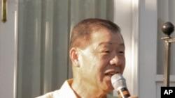 台湾驻美代表袁健生在双橡园主持活动