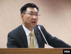 台湾执政党国民党立委江启臣